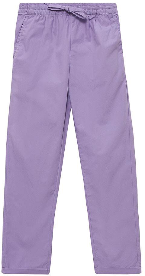 Брюки для девочки Sela, цвет: светло-фиолетовый. P-515/381-7293. Размер 92, 2 годаP-515/381-7293Стильные брюки с подворотами для девочки Sela выполнены из натурального хлопка. Брюки прямого кроя и стандартной посадки на талии имеют широкий пояс на мягкой резинке, дополнительно регулируемый шнурком. Модель дополнена двумя прорезными карманами спереди и двумя накладными карманами сзади.