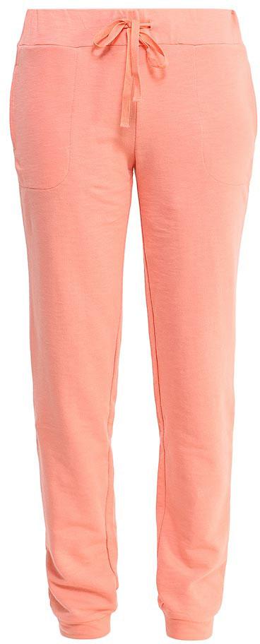 Брюки спортивные женские Sela, цвет: бледно-оранжевый. Pk-115/823-7234. Размер M (46)Pk-115/823-7234Стильные женские брюки-джоггеры Sela выполнены из качественного хлопкового материала и дополнены двумя втачными карманами. Брюки полуприлегающего кроя и стандартной посадки на талии имеют широкий пояс на мягкой резинке, дополнительно регулируемый шнурком. Низ брючин дополнен мягкими трикотажными манжетами.