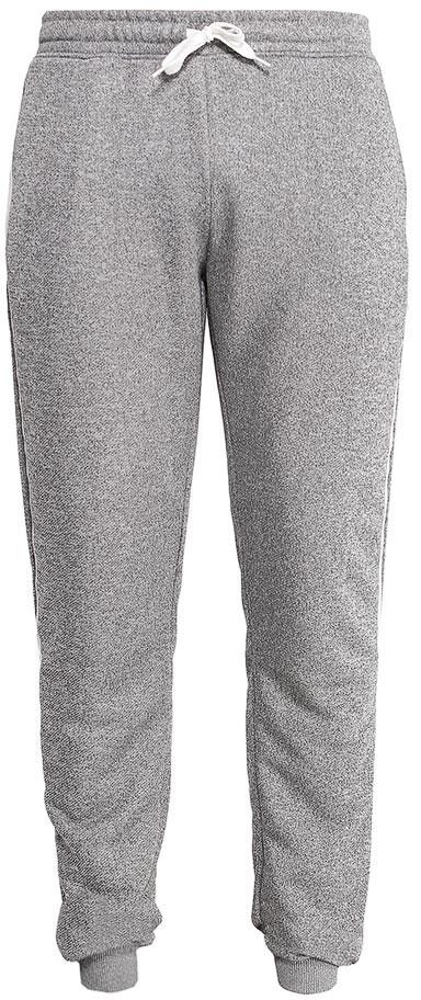 Брюки спортивные мужские Sela, цвет: серый меланж. Pk-2415/001-7111. Размер XXS (42)Pk-2415/001-7111Стильные мужские брюки-джоггеры Sela выполнены из качественного материала и оформлены контрастными лампасами. Брюки полуприлегающего кроя и стандартной посадки на талии имеют широкий пояс на мягкой резинке, дополнительно регулируемый шнурком. Низ брючин дополнен мягкими трикотажными манжетами. Модель дополнена двумя прорезными карманами на застежках-молниях.