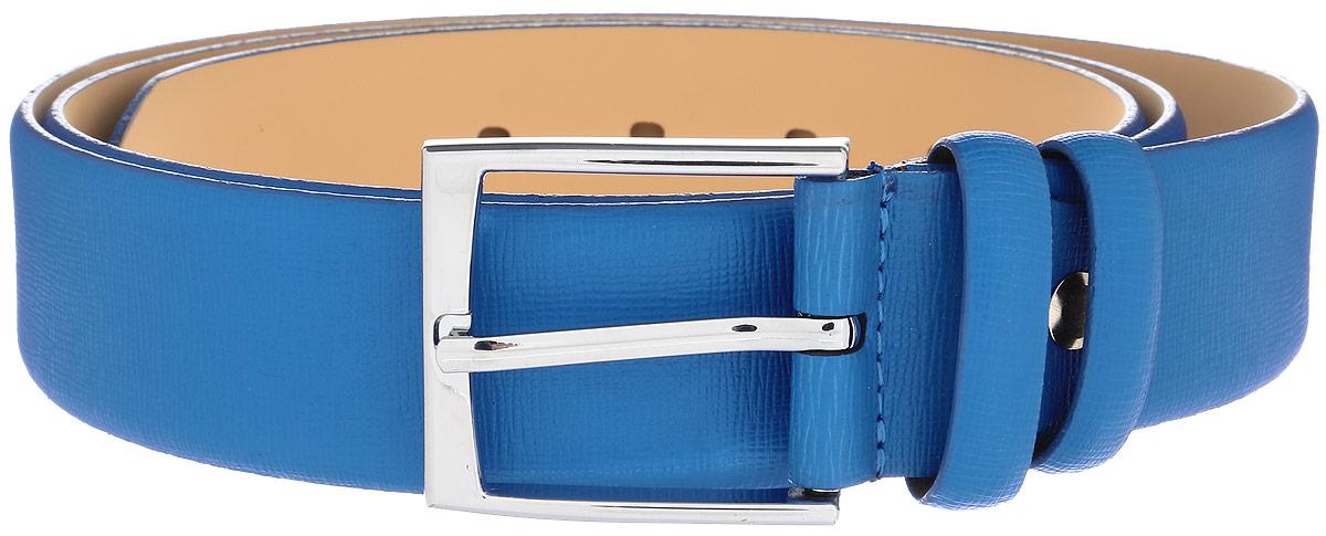 Ремень женский Milana, цвет: голубой. 2350-1153-0000. Размер 1202350-1153-0000Стильный женский ремень Milana изготовлен из натуральной кожи. Прямоугольная пряжка выполнена из металла, она позволит легко и быстро зафиксировать ремень и отрегулировать его длину. Элегантный ремень превосходно сочетается с любыми нарядами.Уважаемые клиенты! Обращаем ваше внимание на тот факт, что размер ремня, доступный для заказа, является его длиной.