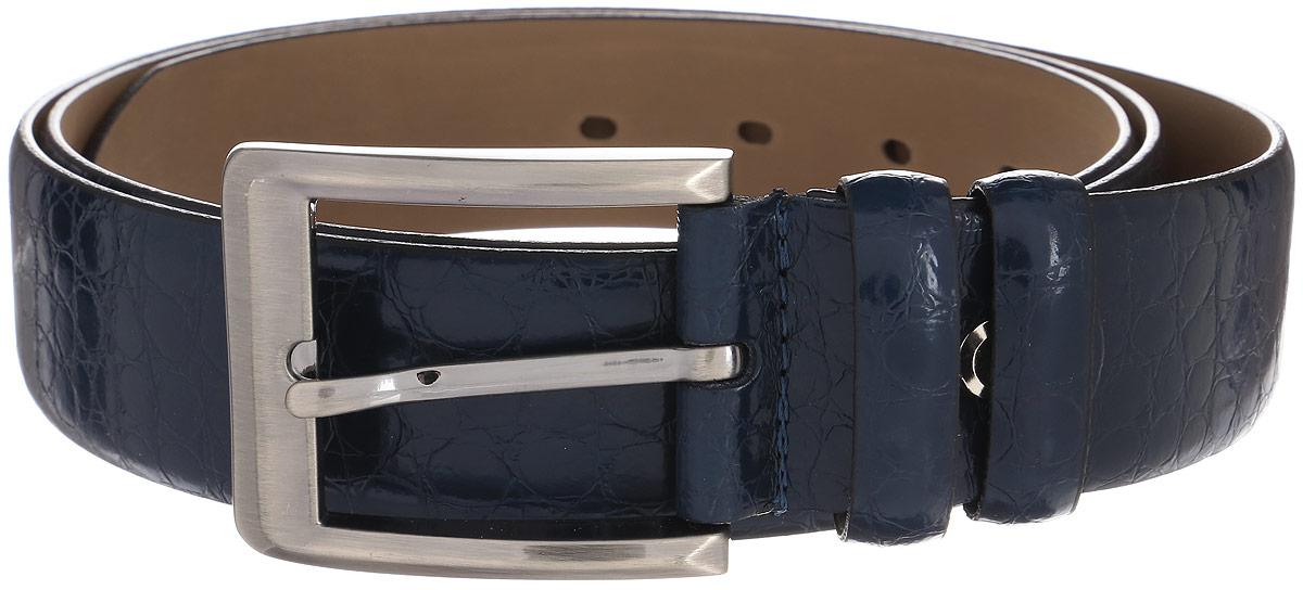 Ремень женский Milana, цвет: темно-синий. 2350-2150-0000. Размер 1202350-2150-0000Стильный женский ремень Milana изготовлен из натуральной кожи. Пряжка выполнена из металла, она позволит легко и быстро зафиксировать ремень и отрегулировать его длину. Элегантный ремень оформлен фактурным принтом, он превосходно сочетается с любыми нарядами.Уважаемые клиенты! Обращаем ваше внимание на тот факт, что размер ремня, доступный для заказа, является его длиной.