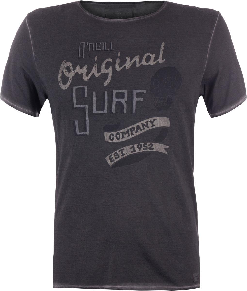 Футболка мужская ONeill Lm Washed Up T-Shirt, цвет: серый. 7A2328-8026. Размер XL (52/54)7A2328-8026Футболка мужская ONeill выполнена из 100% хлопка. Модель имеет стандартный крой, короткий рукав и круглый вырез горловины. Футболка искусственно состарена и дополнена надписями.
