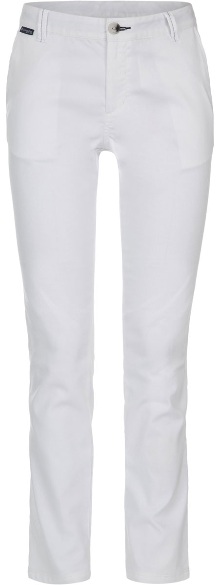 Брюки женские Columbia Harborside Pant, цвет: белый. 1709541-100. Размер 2 (42)1709541-100Стильные женские брюки Columbia Harborside Pant изготовлены из высококачественного материала. Модель прямого покроя с ширинкой на застежке-молнии на талии застегивается на пуговицу и имеет шлевки для ремня. Спереди расположены два боковых втачных кармана.