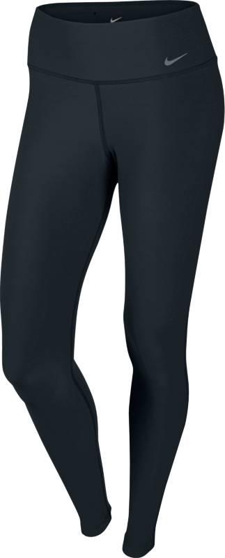 Тайтсы женские Nike Pant, цвет: черный. 548510-010. Размер XL (48/50)548510-010Тайтсы от Nike, выполненные из эластичного полиэстера, прекрасно подойдут для любых тренировок. Материал с технологией Dri-FIT отводит влагу от тела, оставляя кожу сухой. Широкий эластичный пояс приподнят сзади. Плоские швы визуально подтягивают фигуру.