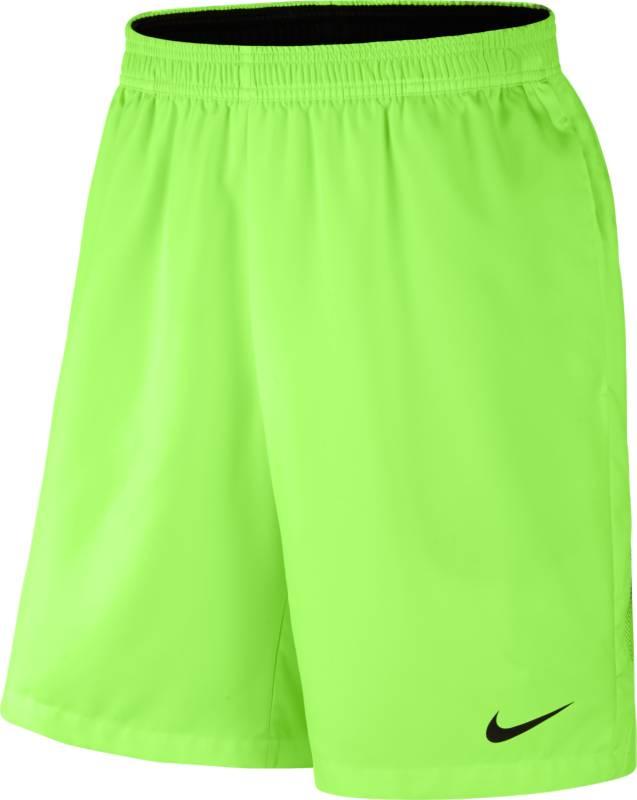 Шорты мужские Nike Court Dry Tennis, цвет: салатовый. 830821-367. Размер M (46/48)830821-367Мужские шорты Court Dry Tennis от Nike созданы для абсолютной функциональности на корте. Модель выполнена из полиэстера и дополнена глубокими карманами для удобного и надежного хранения мячей. Технология Dri-FIT обеспечивает превосходную воздухопроницаемость и комфорт, выводя влагу на поверхность ткани и позволяя коже дышать. Эластичный воздухопроницаемый пояс с внутренним шнурком для идеальной посадки модели.