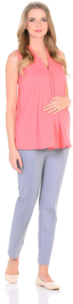 Блузка для беременных Mammy Size, цвет: коралловый. 103393. Размер 42103393Элегантная блузкаженственного силуэта. Тонкая ткань мягко струится по фигуре. Блузка прекрасно сочетается как с брюками, так и с юбками.