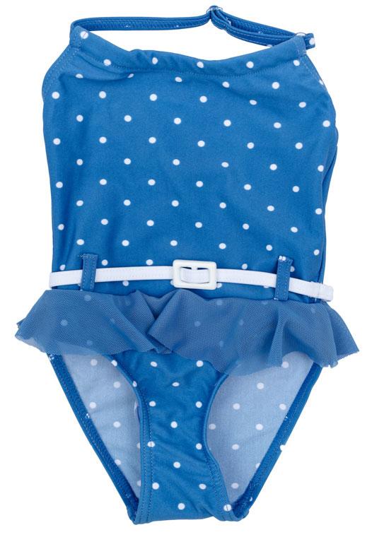 Купальник для девочки PlayToday, цвет: голубой, белый. 178094. Размер 74178094Купальник - это неотъемлемая часть летнего гардероба. Быстросохнущий и эластичный материал этой модели приятен к телу. Ребенку в этом купальнике будет удобно и комфортно.