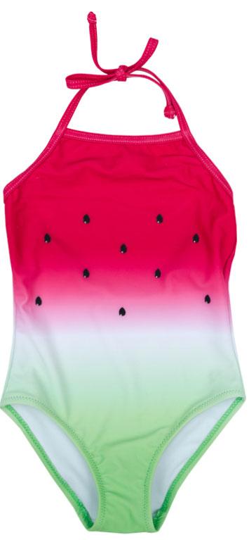 Купальник для девочки PlayToday, цвет: розовый, зеленый. 172186. Размер 122172186Купальник - это неотъемлемая часть летнего гардероба. Быстросохнущий и эластичный материал этой модели приятен к телу. Ребенку в этом купальнике будет удобно и комфортно.