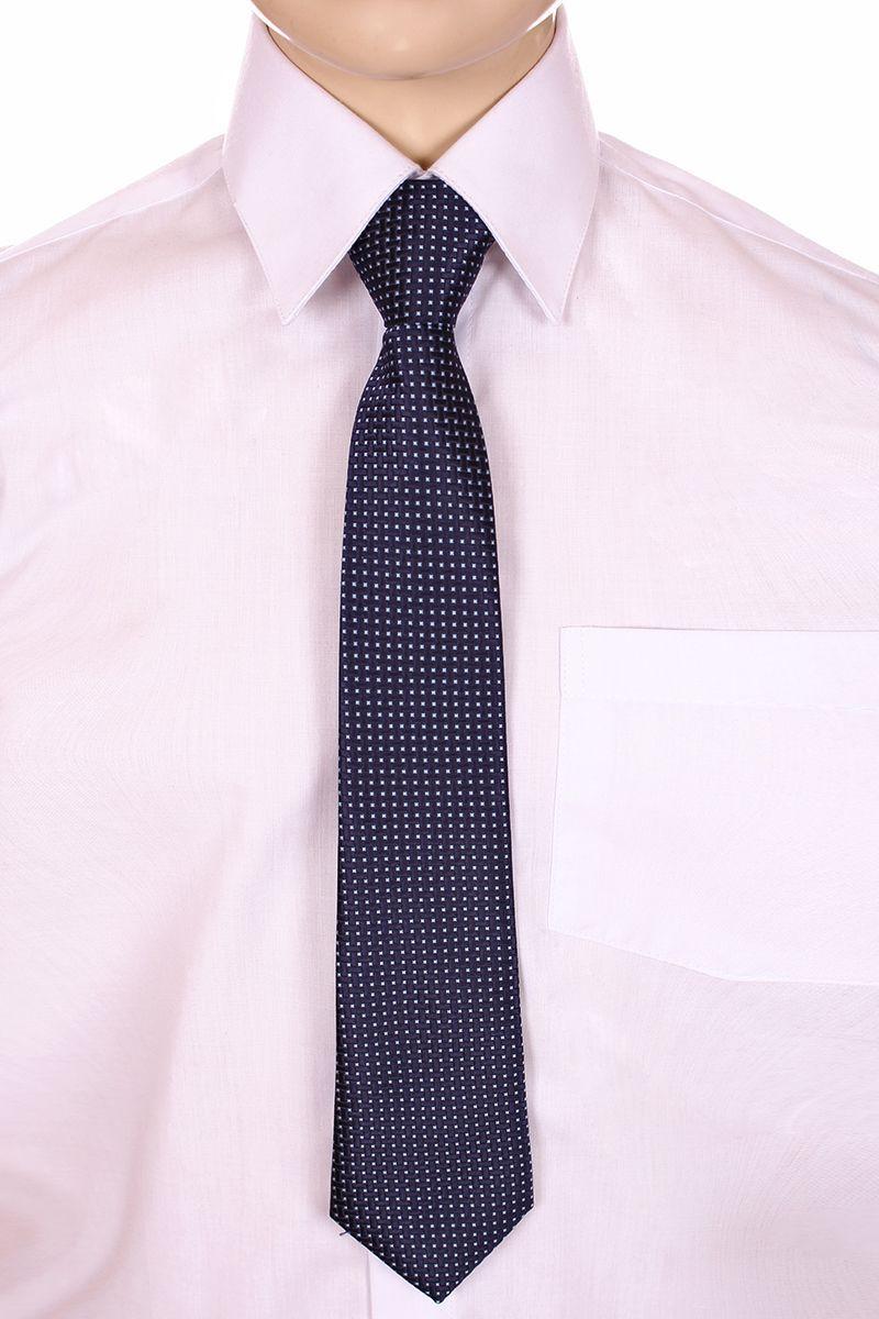 Галстук для мальчика Brostem, цвет: темно-синий, белый. RKCAL29-29. Размер универсальныйRKCAL29-29Модный галстук для мальчика Brostem изготовлен из качественного полиэстера. Такой аксессуар придаст юному кавалеру солидности.