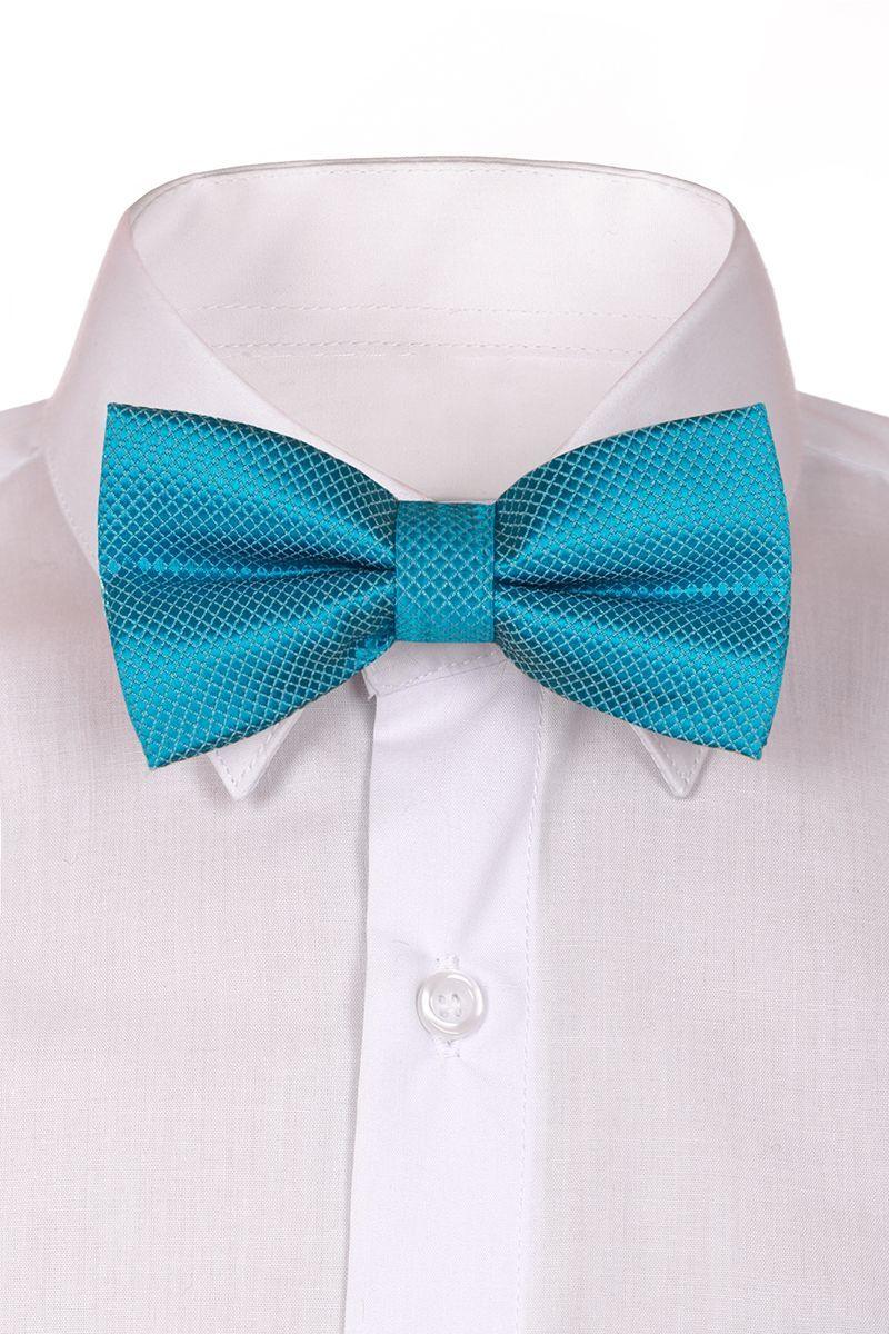 Галстук-бабочка для мальчика Brostem, цвет: бирюзовый. RBAB28-28. Размер универсальныйRBAB28-28Модный галстук-бабочка для мальчика Brostem изготовлен из качественного полиэстера. Такой аксессуар придаст юному кавалеру солидности.