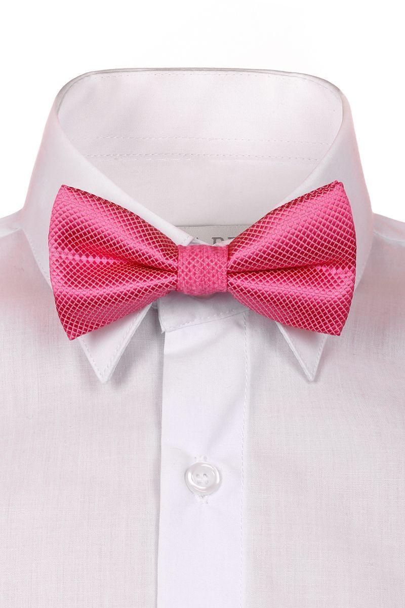 Галстук-бабочка для мальчика Brostem, цвет: розовый. RBAB05-5. Размер универсальныйRBAB05-5Модный галстук-бабочка для мальчика Brostem изготовлен из качественного полиэстера. Такой аксессуар придаст юному кавалеру солидности.