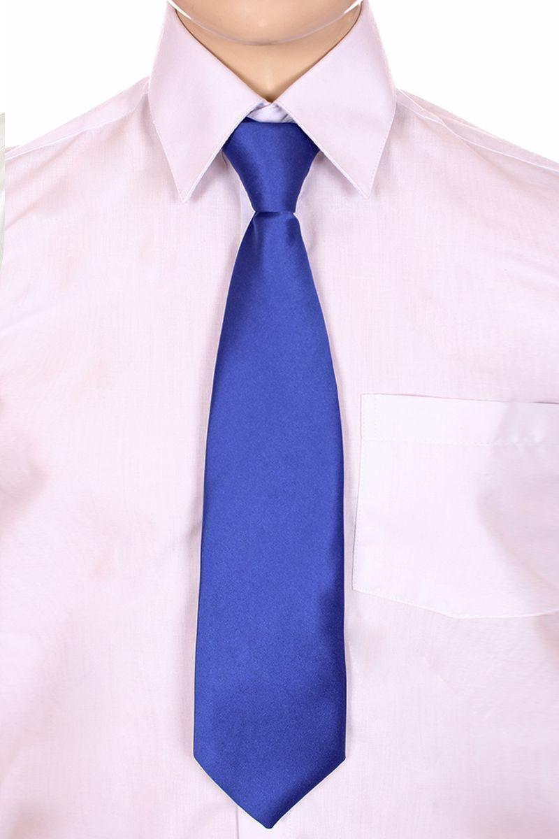 Галстук для мальчика Brostem, цвет: васильковый. CCAL81-81. Размер универсальныйCCAL81-81Модный галстук для мальчика Brostem изготовлен из полиэстера. Обхват шеи регулируется с помощью пластикового фиксатора.