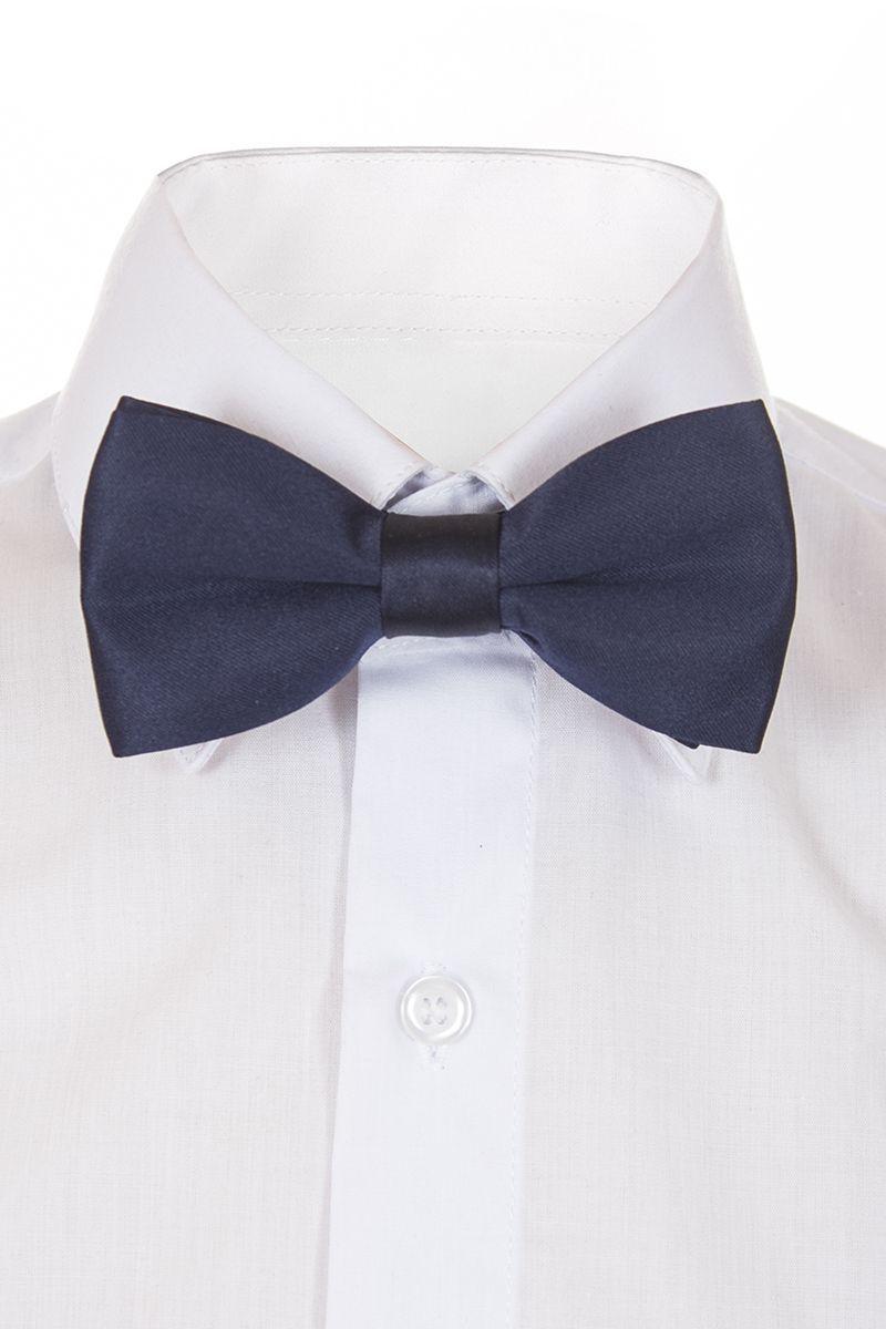 Галстук-бабочка для мальчика Brostem, цвет: темно-синий. BAB29-29. Размер универсальныйBAB29-29Модный галстук-бабочка для мальчика Brostem изготовлен из качественного полиэстера. Такой аксессуар придаст юному кавалеру солидности.
