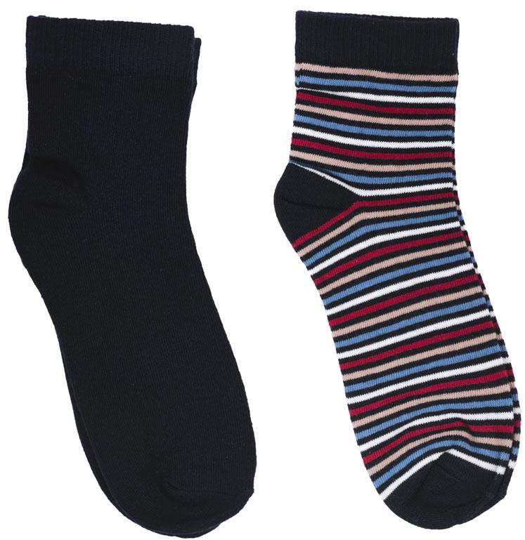 Носки для мальчика Scool, цвет: черный, голубой, бордовый, 2 пары. 173030. Размер 24173030Носки для мальчика Scool изготовлены из качественного и тактильно приятного материала. На изделии предусмотрена мягкая эластичная резинка. Усиленные пятка и мысок обеспечивают надежность и долговечность.В комплект входят две пары носков. Одна модель оформлена полосками.