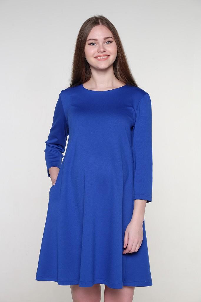 Платье для беременных и кормящих Hunny Mammy, цвет: синий. 2-НМ 34711. Размер 462-НМ 34711Стильное платье для беременных Hunny Mammy изготовлено из полиэстера, вискозы и эластана. Модель с круглым вырезом горловины и рукавами длиной 3/4 имеет свободный крой. Изделие украшено на спинке бантом.