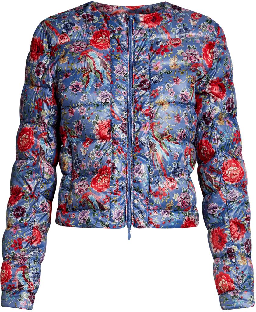Куртка женская oodji Ultra, цвет: синий, красный. 10203050-1M/42257/7545F. Размер 36-170 (42-170)10203050-1M/42257/7545FЖенская стеганая куртка oodji Ultra выполнена из высококачественного материала, в качестве подкладки используется полиэстер. Утеплитель - синтепон. Модель с круглым вырезом горловины застегивается на застежку-молнию. Спереди расположено два втачных кармана на застежках-молниях.
