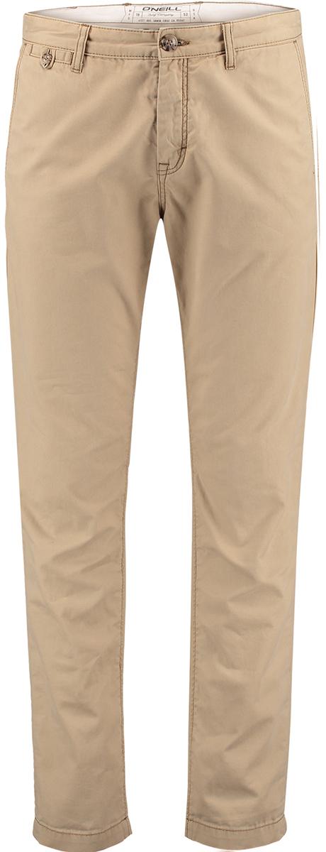 Брюки мужские ONeill Lm Friday Night Chino Pants, цвет: коричневый. 7A2700-7027. Размер 33 (52/54)7A2700-7027Мужские брюки ONeill выполнены из 100% хлопка. Модель имеет прямой силуэт, застегивается на ширинку с молнией и пуговицу в поясе. Пояс дополнен шлевками для ремня. Спереди имеется небольшой вшитый кармашек на петле с пуговицей, сзади также имеется два вшитых кармана.