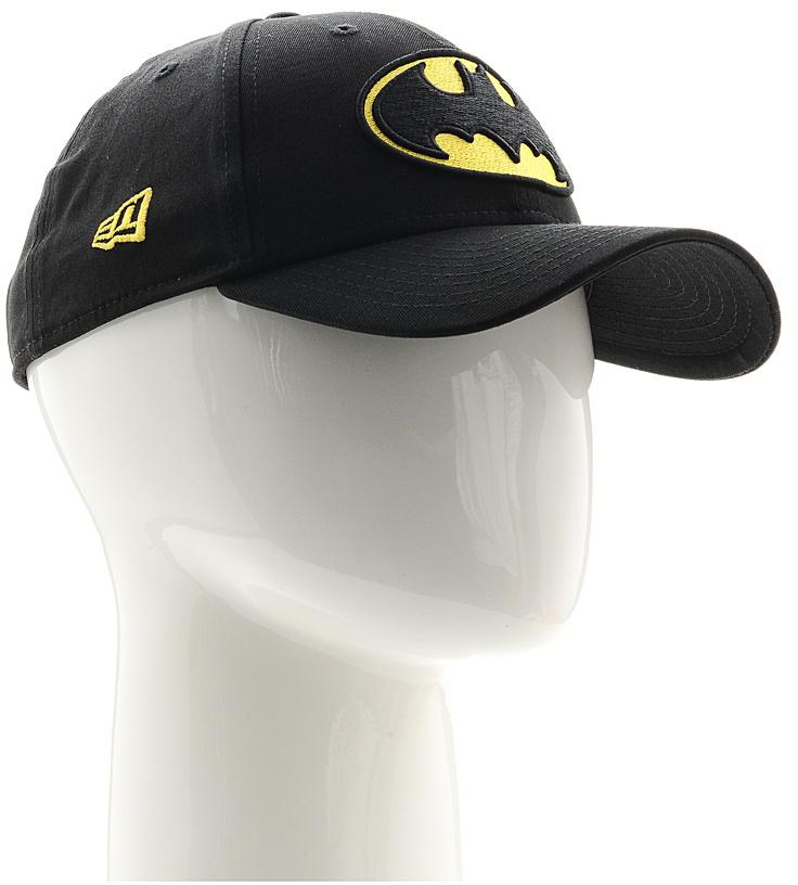Бейсболка New Era Character 9forty Batman, цвет: черный, желтый. 11379829-BLK. Размер универсальный11379829-BLKСтильная бейсболка New Era, выполненная из высококачественного материала, идеально подойдет для прогулок, занятий спортом и отдыха.Изделие оформлено объемным вышитым логотипом Бетмена и логотипом бренда New Era.Бейсболка надежно защитит вас от солнца и ветра. Эта модель станет отличным аксессуаром и дополнит ваш повседневный образ.