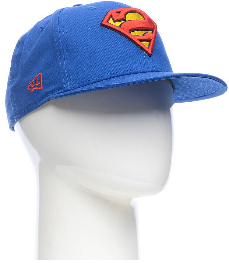 Бейсболка New Era Character 9fifty Superman, цвет: синий, красный, желтый. 11379760-BLU. Размер M/L (57/60)11379760-BLUСтильная бейсболка New Era, выполненная из высококачественного материала, идеально подойдет для прогулок, занятий спортом и отдыха.Изделие оформлено объемным вышитым логотипом супермена и логотипом бренда New Era.Бейсболка надежно защитит вас от солнца и ветра. Эта модель станет отличным аксессуаром и дополнит ваш повседневный образ.
