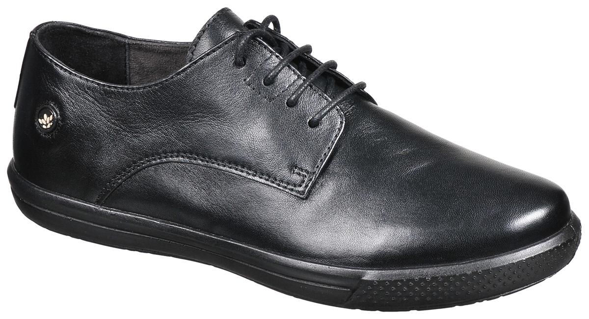 Полуботинки женские Woodland, цвет: черный. LS1799115. Размер 39LS1799115Модные женские полуботинки от Woodland заинтересуют вас своим дизайном с первого взгляда! Модель изготовлена из натуральной кожи. Классическая шнуровка прочно зафиксирует обувь на вашей ноге. Стелька и внутренняя поверхность из натуральной кожи - обеспечат максимальный комфорт при движении. Подошва с рифлением обеспечивает идеальное сцепление с поверхностью в любую погоду. Стильные полуботинки позволят вам выделиться из толпы.