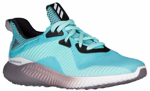 Кроссовки для бега женские adidas Alphabounce 1, цвет: бирюзовый. B39429. Размер 7,5 (40)B39429Удобные женские кроссовки для плавного бега. Бесшовный эластичный верх FORGEDMESH и текстильная подкладка обеспечивают плотно прилегающую посадку. Гибкая промежуточная подошва BOUNCE смягчает каждый шаг, создавая для стопы комфортные условия во время продолжительных забегов.Тип поддержки стопы: нейтральный. Технология BOUNCE оптимизирует амортизацию, заряжая каждый шаг дополнительной энергией. Бесшовный эластичный верх со стратегически расположенными поддерживающими вставками обеспечивает индивидуальную и максимально естественную посадку. Литой задник из ЭВА для дополнительной поддержки пятки. Плотно облегающая конструкция для удобной посадки; комфортная текстильная подкладка. Цепкая резиновая подошва. Вес: 270 г (размер 37,5).Перепад высоты на промежуточной подошве: 10 мм (пятка: 22 мм / носок: 12 мм).