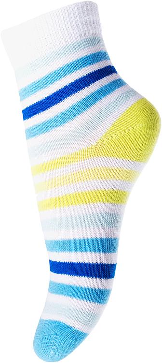 Носки для девочки PlayToday, цвет: голубой, синий, желтый. 178093. Размер 11178093Носки PlayToday, изготовленные из высококачественного материала, прекрасно подойдут вашему ребенку. Эластичная резинка плотно облегает ножку ребенка, не сдавливая ее. Усиленная пятка и мысок обеспечивают надежность и долговечность.