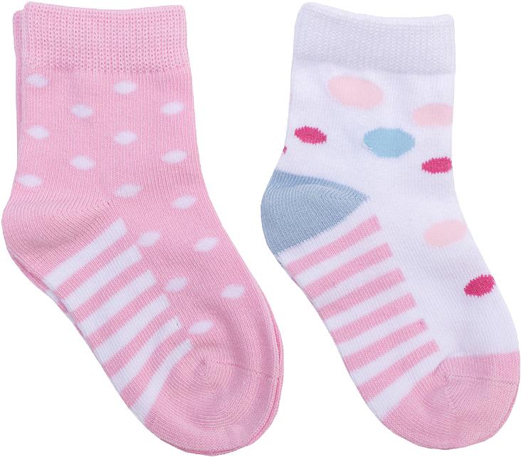 Носки для девочки PlayToday, цвет: розовый, белый, 2 пары. 368091. Размер 12368091Носки PlayToday, изготовленные из высококачественного материала, прекрасно подойдут вашему ребенку. Эластичная резинка плотно облегает ножку ребенка, не сдавливая ее. Усиленная пятка и мысок обеспечивают надежность и долговечность.