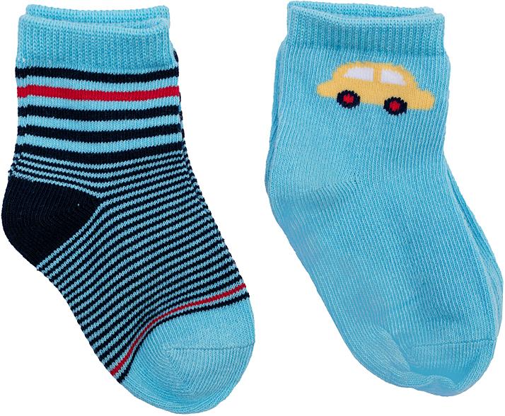 Носки для мальчика PlayToday, цвет: синий, голубой, 2 пары. 367814. Размер 11367814Носки для мальчика PlayToday, изготовленные из высококачественного материала, идеально подойдут вашему малышу. Эластичная резинка плотно облегает ножку ребенка, не сдавливая ее, благодаря чему малышу будет комфортно и удобно. Усиленная пятка и мысок обеспечивают надежность и долговечность.
