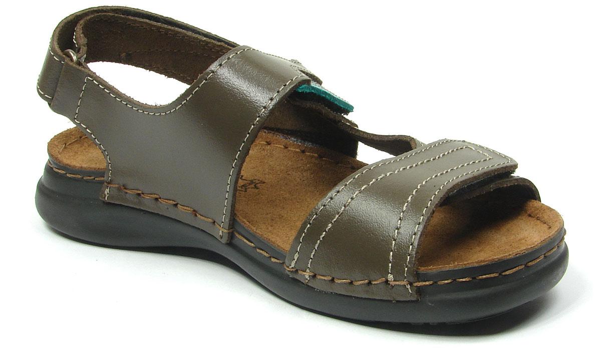 Сандалии для девочки Inblu, цвет: темно-коричневый. FR-1T. Размер 38FR-1T_темно-коричневыйМодные сандалии для девочки от Inblu выполнены из натуральной кожи. Внутренняя поверхность и стелька из натуральной кожи комфортны при движении. Ремешки с застежками-липучками надежно зафиксируют модель на ноге. Подошва дополнена рифлением.