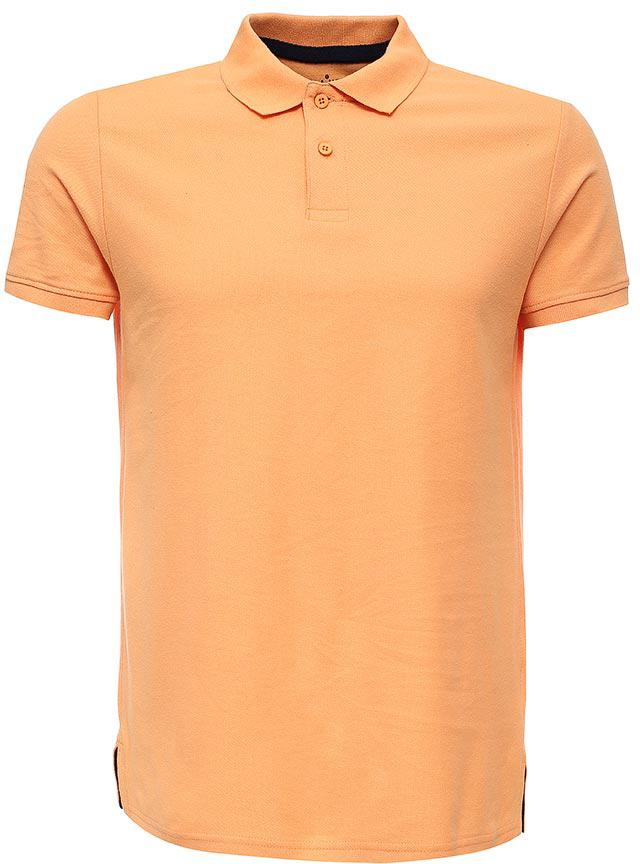 Поло мужское Sela, цвет: желто-оранжевый. Tsp-211/2057-7223. Размер XS (44)Tsp-211/2057-7223Стильная мужская футболка-поло Sela, выполненная из натурального хлопка, станет отличным дополнением гардероба в летний период. Модель полуприлегающего кроя с разрезами по бокамзастегивается на пуговицы до середины груди.Яркий цвет модели позволяет создавать стильные образы.