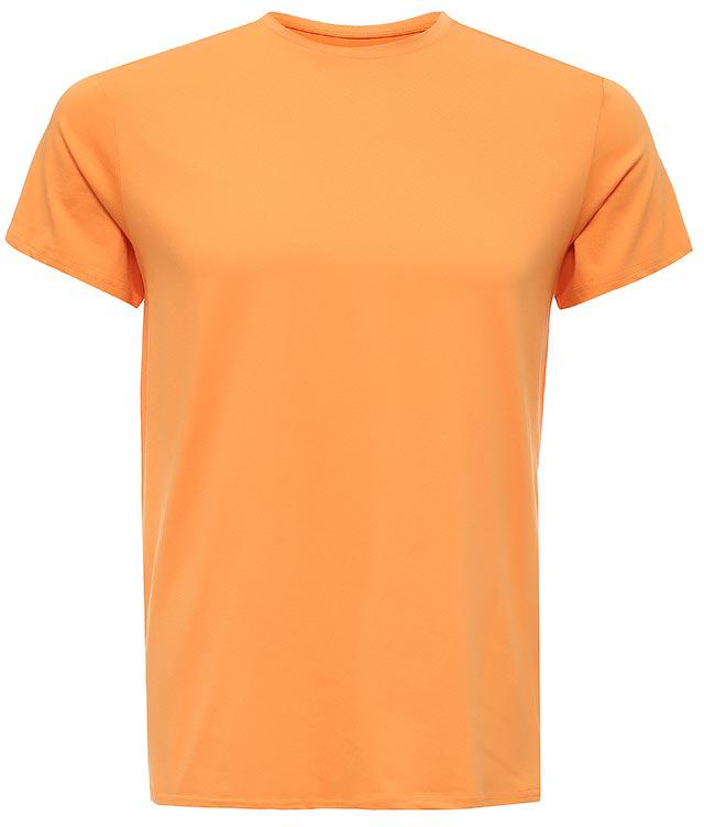 Футболка мужская Sela, цвет: желто-оранжевый. Ts-211/1136-7223. Размер S (46)Ts-211/1136-7223Стильная мужская футболка полуприлегающего силуэта Sela изготовлена из однотонного натурального хлопка. Воротник дополнен мягкой трикотажной резинкой. Универсальный цвет позволяет сочетать модель с любой одеждой.
