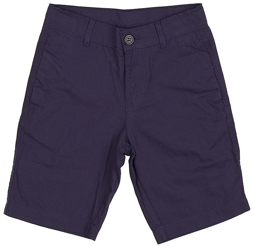 Шорты для мальчика Sela, цвет: темно-синий. SH-815/340-7224. Размер 140, 10 летSH-815/340-7224Стильные шорты для мальчика Sela, изготовленные из натурального хлопка, станут отличным дополнением гардероба в летний период. Шорты прямого кроя до колен и стандартной посадки на талии застегиваются на застежку-молнию и пуговицу. На поясе имеются шлевки для ремня. Спереди и сзади модель дополнена двумя прорезными карманами.