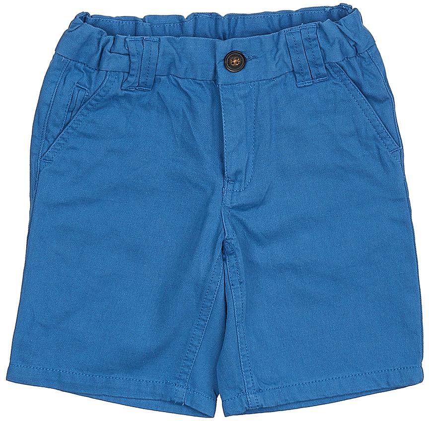 Шорты для мальчика Sela, цвет: индиго. SH-715/785-7214. Размер 92, 2 годаSH-715/785-7214Стильные шорты для мальчика Sela, изготовленные из качественного хлопкового материала, станут отличным дополнением гардероба в летний период. Шорты прямого кроя до колен и стандартной посадки на талии застегиваются на застежку-молнию и пуговицу. На поясе имеются шлевки для ремня. Модель дополнена двумя втачными и прорезным карманами спереди и двумя прорезными карманами сзади.
