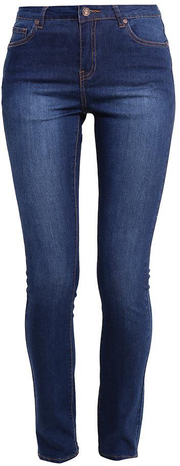 Джинсы женские Sela Denim, цвет: темно-синий джинс. PJ-135/594-7213. Размер 29-32 (46-32)PJ-135/594-7213Стильные джинсы Sela, изготовленные из качественного эластичного хлопка, станут отличным дополнением вашего гардероба. Джинсы зауженного кроя и завышенной посадки на талии застегиваются на застежку-молнию и пуговицу. На поясе имеются шлевки для ремня. Модель представляет собой классическую пятикарманку: два втачных и накладной карманы спереди и два накладных кармана сзади.
