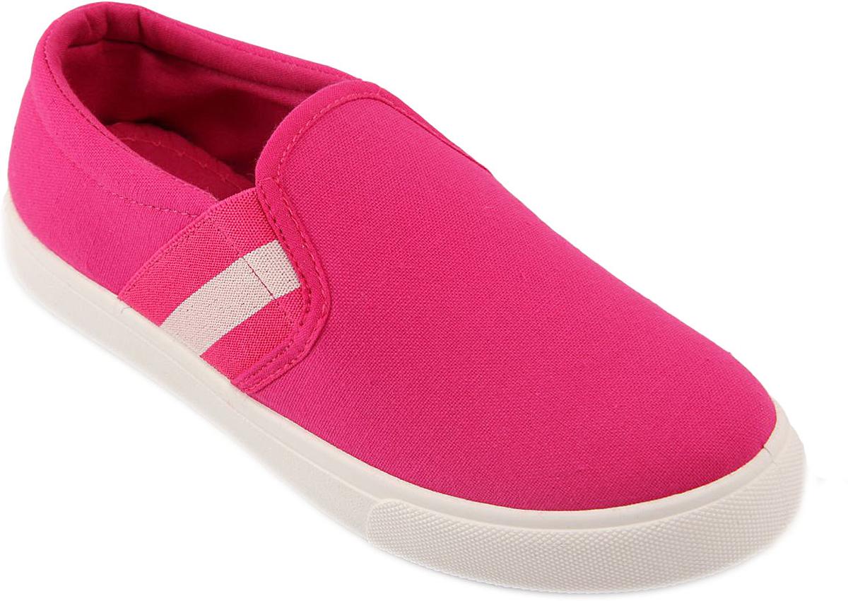 Слипоны женские In Step, цвет: фуксия. A204-3. Размер 39A204-3Стильные женские слипоны от In Step выполнены из высококачественного текстиля. Подошва из ПВХ устойчива к изломам. На подъеме модель дополнена эластичными вставками для удобства надевания. Аккуратно смотрятся на ноге, комфортно носятся.