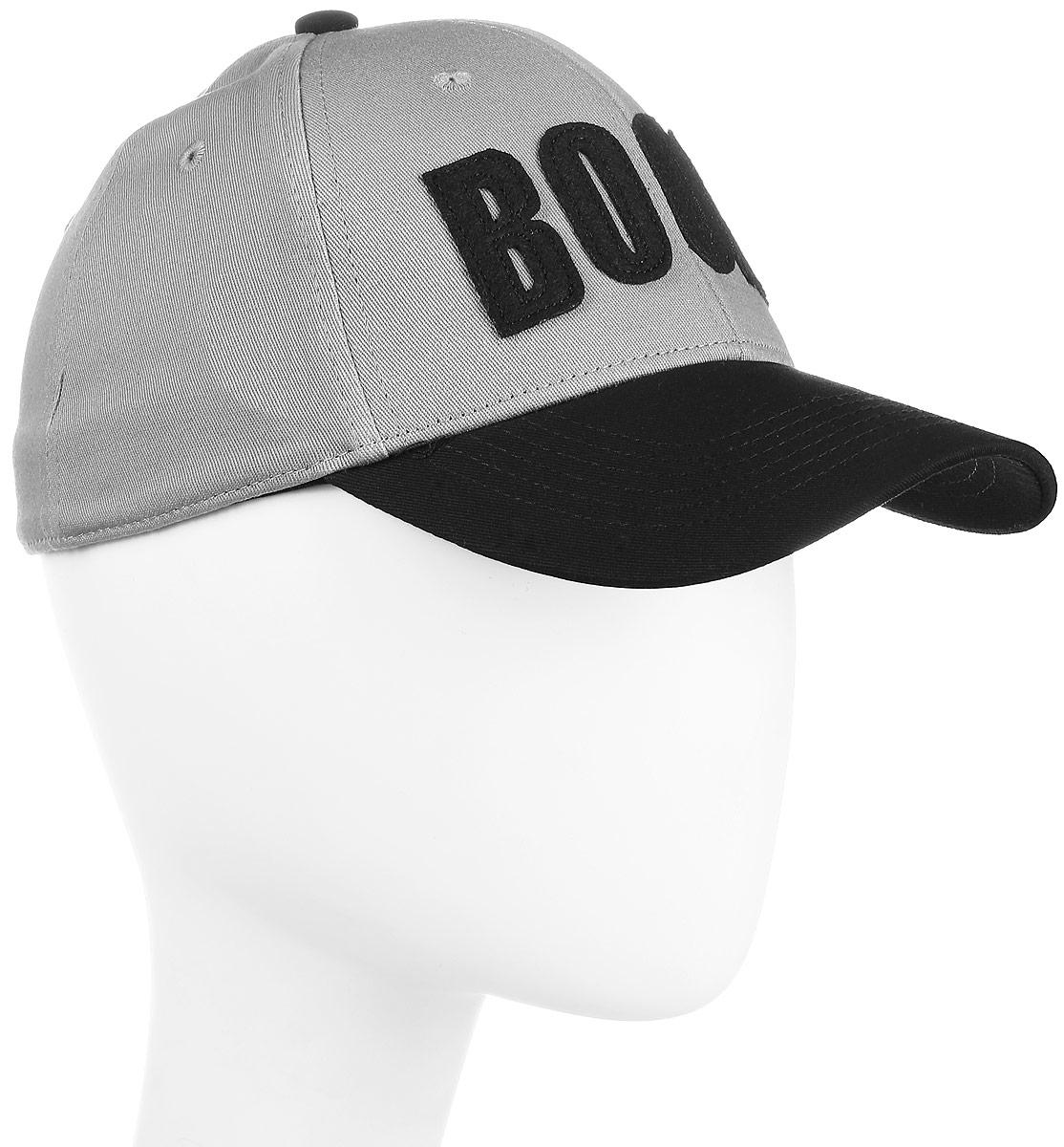 Бейсболка мужская Maxval, цвет: серый. BY141026. Размер 55/56BY141026Модная объемная бейсболка с контрастным по цвету козырьком. Универсальный аксессуар предназначен для стильных молодых людей. Спандекс в составе ткани обеспечивает плотную посадку по голове.