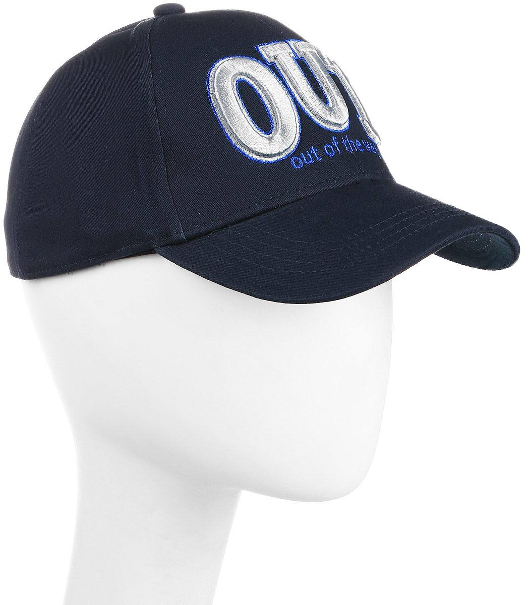 Бейсболка мужская Maxval, цвет: темно-синий. BY141025. Размер 57/59BY141025Модная бейсболка Maxval с дополнительным объемом. Клубная объемная вышивка делает эту модель интересной для любителей спортивного стиля одежды. Спандекс в составе ткани обеспечивает плотную посадку по голове.