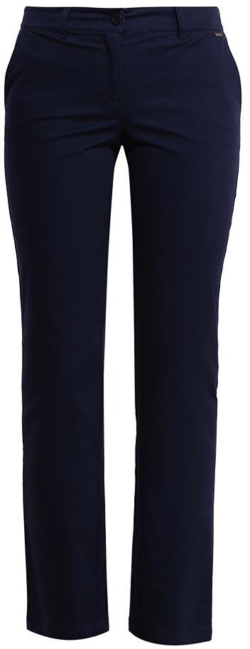 Брюки женские Finn Flare, цвет: темно-синий. S17-11047_101. Размер S (44)S17-11047_101Стильные женские брюки Finn Flare станут отличным дополнением к вашему гардеробу. Модель изготовлена из хлопка и эластана, она великолепно пропускает воздух и обладает высокой гигроскопичностью. Застегиваются брюки на пуговицу и ширинку на застежке-молнии. На поясе имеются шлевки для ремня. Эти модные и в тоже время удобные брюки помогут вам создать оригинальный современный образ. В них вы всегда будете чувствовать себя уверенно и комфортно.