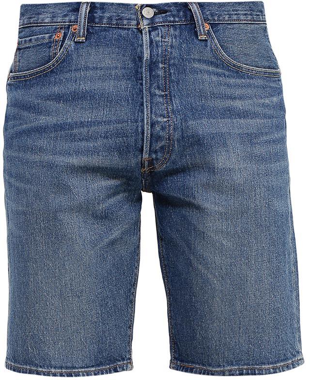 Шорты мужские Levis®, цвет: синий. 3651200450. Размер 32 (48-32)3651200450Джинсовые шорты Levis® изготовлены из хлопка с добавлением эластана. Шорты застегиваются на пуговицы. Модель со стандартным кроем в бедрах имеет прямые штанины. Спереди расположены два втачных кармана и один маленький накладной, а сзади - два накладных кармана. Изделие оформлено красивой контрастной прострочкой.