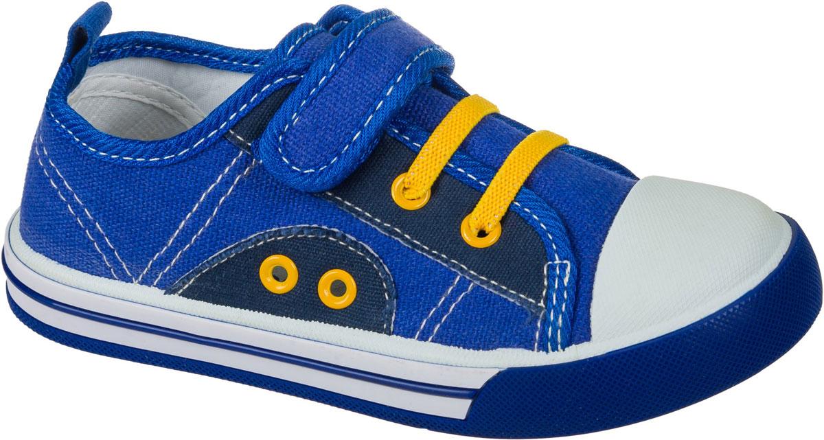 Кеды для мальчика Mursu, цвет: синий. 101147. Размер 31101147Стильные кеды от Mursu придутся по душе вашему юному моднику. Модель выполнена из качественного текстиля. На заднике предусмотрена петелька для удобства обувания. Хлястик с липучкой прочно закрепит модель на ноге. Подкладка и стелька из текстиля и натуральной кожи гарантируют комфорт при носке. Гибкая мягкая подошва обеспечивает идеальное сцепление с разными поверхностями.