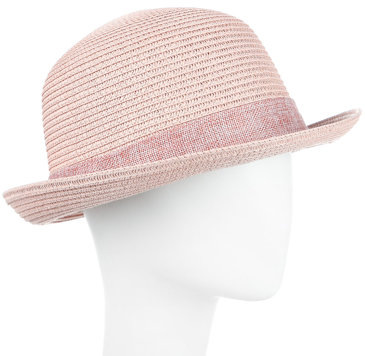 Шляпа женская Maxval, цвет: розовый. HtW100292. Размер 58HtW100292Модная шляпа Maxval выполнена из качественной бумажной соломки. Шляпа с полями дополнена текстильными цветками. Эта модель станет отличным аксессуаром и дополнит ваш повседневный образ.