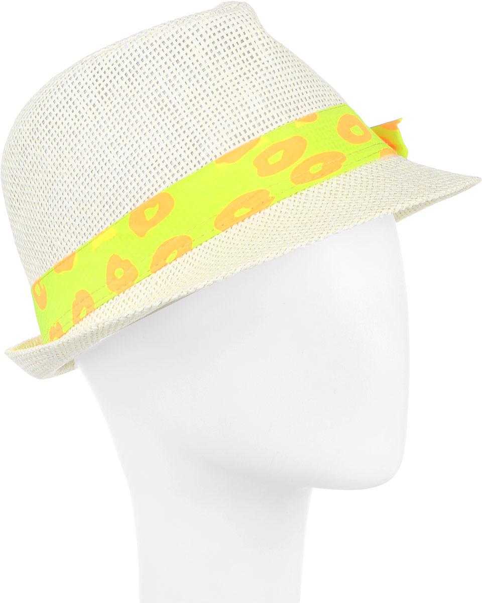 Шляпа женская Maxval, цвет: белый. HtY131011. Размер 55HtY131011Модная шляпа Maxval выполнена из качественной бумажной соломки. Шляпа с полями дополнена лентой контрастного цвета. Эта модель станет отличным аксессуаром и дополнит ваш повседневный образ.