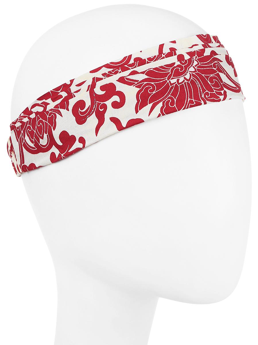 Повязка на голову женская Maxval, цвет: красный. PoW100241. Размер универсальныйPoW100241Повязка на голову Maxval выполнена из хлопка в яркой цветовой гамме. Размер универсальный. Возможны различные варианты носки.