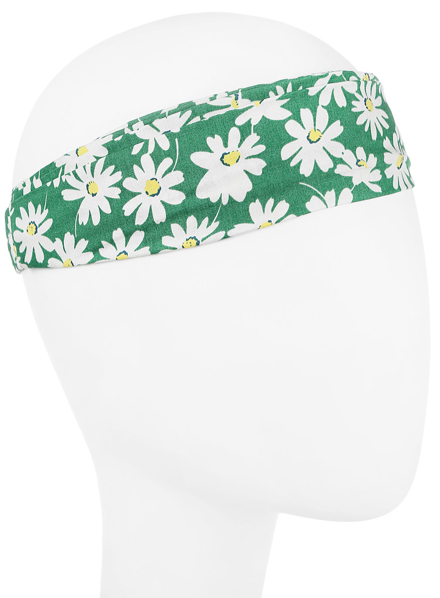 Повязка на голову женская Maxval, цвет: зеленый. PoW100255. Размер универсальныйPoW100255Повязка на голову Maxval выполнена из хлопка в яркой цветовой гамме. Размер универсальный. Возможны различные варианты носки.