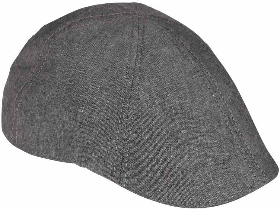 Кепка Goorin Brothers Mr Bang, цвет: серый. 90-145-08. Размер L (59)90-145-08Mr Bang – превосходная весенне-летняя модель кепки уточки. Сшита из шести панелей хлопковой ткани пастельных тонов. Передняя часть имеет специальную вставку, благодаря чему кепка хорошо держит форму. Твердый козырек снизу обшит той же тканью. Подкладка яркая и контрастная. Мягкая внутренняя лента имеет тянущуюся вставку в области лба для самой комфортной посадки.Уважаемые клиенты! Обращаем ваше внимание на тот факт, что размер изделия, доступный для заказа, равен обхвату головы.