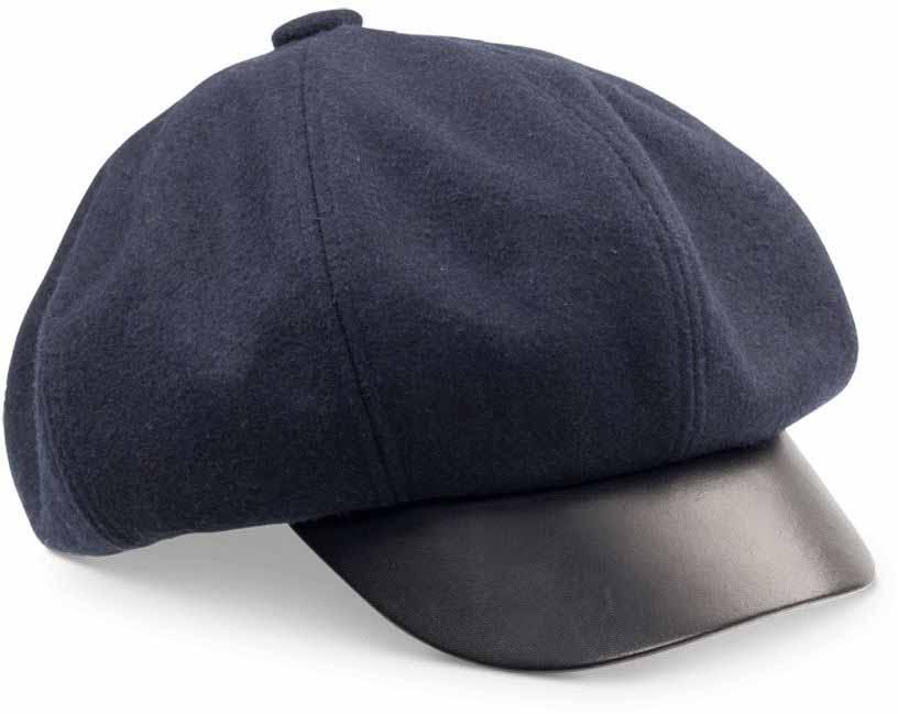 Кепка Goorin Brothers Ayu, цвет: темно-синий. 91-093-06. Размер M (57)91-093-06Ayu - удобная шерстяная кепка картуз с приятной на ощупь подкладкой и козырьком, отделанным искусственной кожей.Уважаемые клиенты! Обращаем ваше внимание на тот факт, что размер изделия, доступный для заказа, равен обхвату головы.