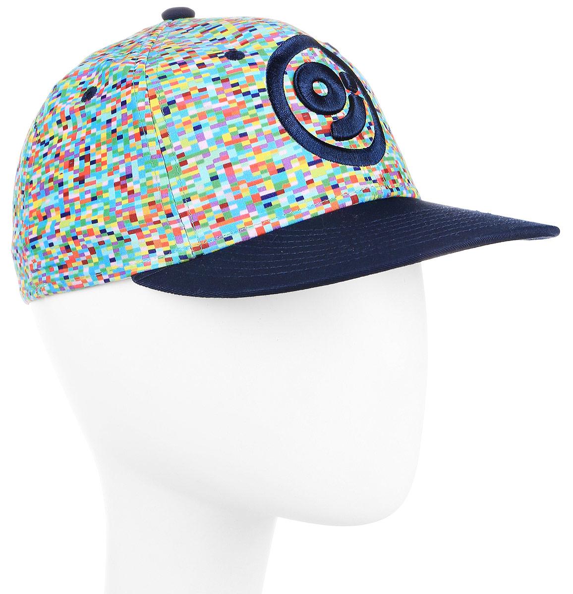 Бейсболка Imojo, цвет: темно-синий. BY151019. Размер 56/58BY151019Модная молодежная бейсболка из плотного хлопка