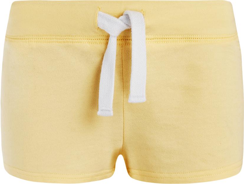 Шорты женские oodji Ultra, цвет: светло-желтый. 17001029-4B/46155/5000N. Размер M (46)17001029-4B/46155/5000NСтильные женские шорты oodji Ultra изготовлены из натурального хлопка.Шорты стандартной посадки имеют эластичный пояс на талии, дополненный шнурком.