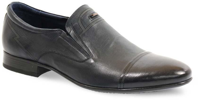 Туфли мужские Vera Victoria Vito, цвет: черный. 12-700-5. Размер 4012-700-5Модные мужские туфли от Vera Victoria Vito не оставят вас равнодушным. Модель выполнена из натуральной кожи и оформлена прострочкой. Резинки, расположенные на подъеме, гарантируют оптимальную посадку обуви на ноге. Подкладка и стелька из мягкой кожи, предотвратят натирание и обеспечат комфорт при носке. Подошва, изготовленная из прочной и гибкой резины, дополнена небольшим каблуком. Рифление подошвы гарантирует отличное сцепление с различными поверхностями. Стильные туфли - незаменимая вещь в гардеробе каждого мужчины.
