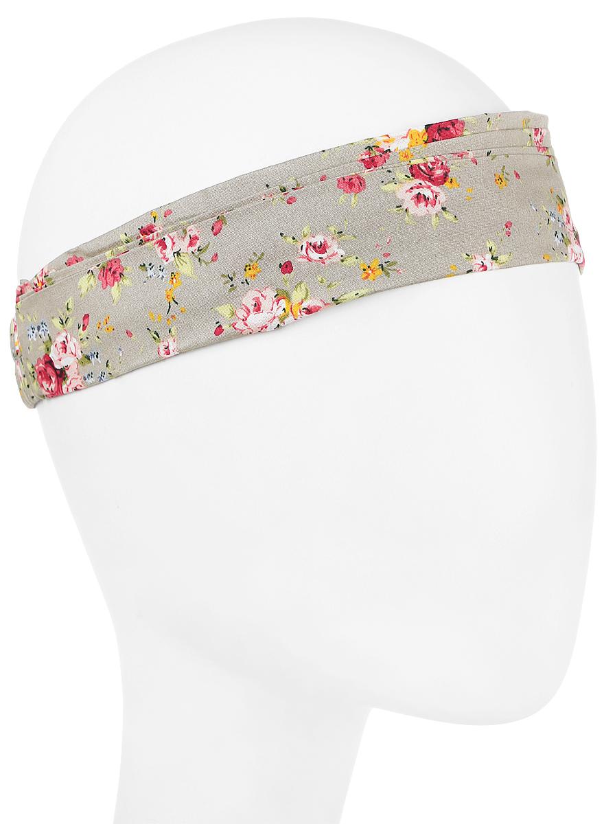 Повязка на голову женская Maxval, цвет: светло-серый. PoW100252. Размер универсальныйPoW100252Повязка на голову Maxval выполнена из хлопка в яркой цветовой гамме. Размер универсальный. Возможны различные варианты носки.